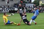 Divize B, fotbal, Brandýs nad Labem, Arsenal Česká Lípa. Foto: Jaroslav Marek