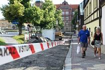 V centru Nového Boru pokračuje rozsáhlá rekonstrukce historického středu města.