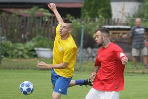 Patrik Bednář kope I.B třídu v klubu FK Cvikov.