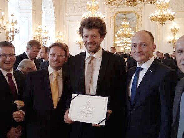 V kategorii obcí do tisíce obyvatel se stal vítězem Jan Sviták z Prysku.