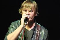 V České Lípě zahrál se svou kapelou Michal Hrůza.