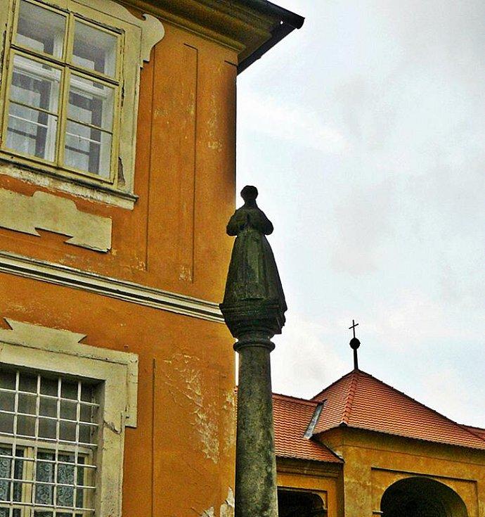 Kostel v Horní Polici.