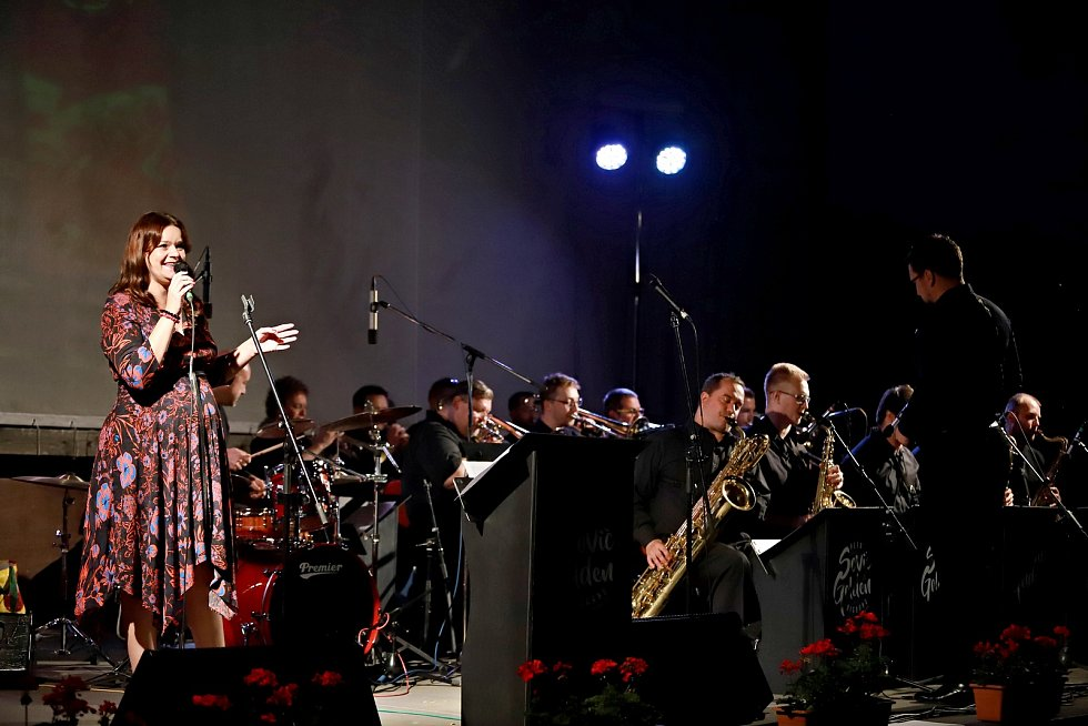 Jazzový festival v Dubé.