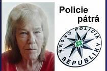 Policisté pátrají po pohřešované Jiřině Levé z České Lípy.