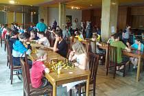 Šachové klání proběhlo v příjemném prostředí kulturního domu ve Stráži pod Ralskem.