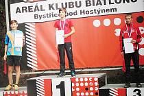 Josef Zátka v rychlostním závodě obsadil 2. místo.