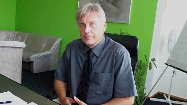 Jaroslav Kratochvíl, generální ředitel Nemocnice s Poliklinikou v České Lípě.