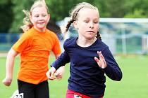 Více než 250 dětí z Libereckého kraje se v úterý na stadionu AC Česká Lípa utkalo o možnost postoupit do finále celostátní soutěže Kinderiáda.