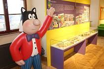 Muzeum Čtyřlístek se loni přestěhovalo do prostor zámku v Doksech.
