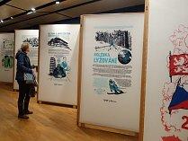 Putovní výstavu spojenou s tematickým nástěnným kalendářem k oslavám kulatého jubilea, kterou připravil Liberecký kraj, si mohli poprvé prohlédnout návštěvníci Eurocentra v Jablonci nad Nisou na veletrhu Euroregion Tour.