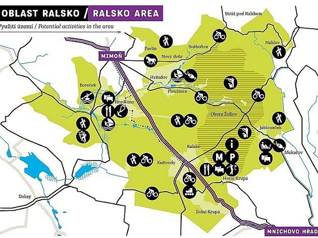 Sport a zábava, na to chtějí lákat soukromí investoři v budoucnu do největšího geoparku v republice do Ralska.