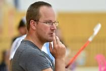 David Derka - trenér českolipských florbalistů.