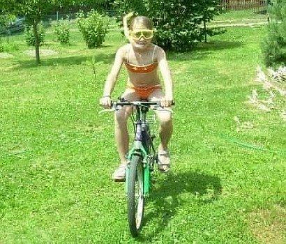 Štěpánka Bisová propadla triatlonu, ke kterému ji přivedl její přítel Petr Cmunt.