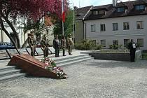 Pietní akt ke Dni vítězství se koná ve čtvrtek v České Lípě na náměstí Osvobození.
