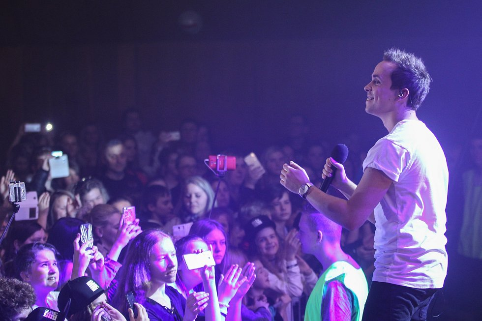 Kapela Slza zahrála v KD Crystal v České Lípě.