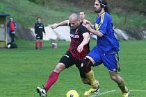 Domácí Jiskra Mimoň podlehla 2:3 v derby krajského přeboru České Lípě, přestože vedla už 2:0.
