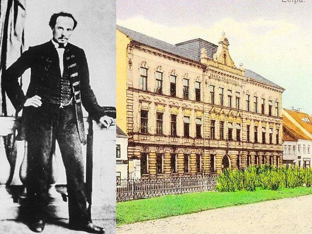 Budova bývalé kartounky v dnešní Moskevské ulici, upravená v roce 1850 na soudní budovu s celami pro samovazbu, tady byl Arbes vězněný. Od roku 1901 tu sídlí škola.