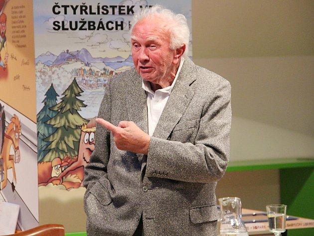 Zdeněk Mahler zavítal do Doks.