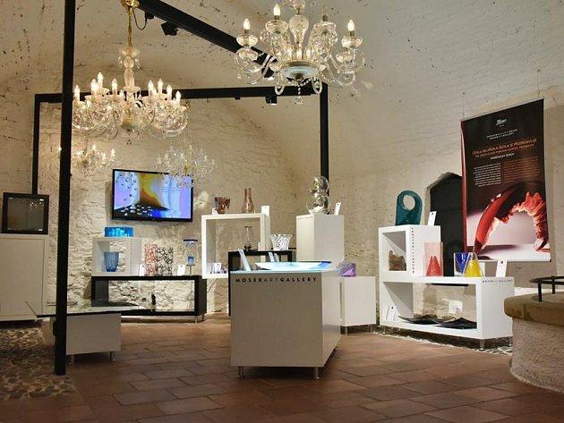 Galerie Moser se nachází přímo na Staroměstském náměstí.