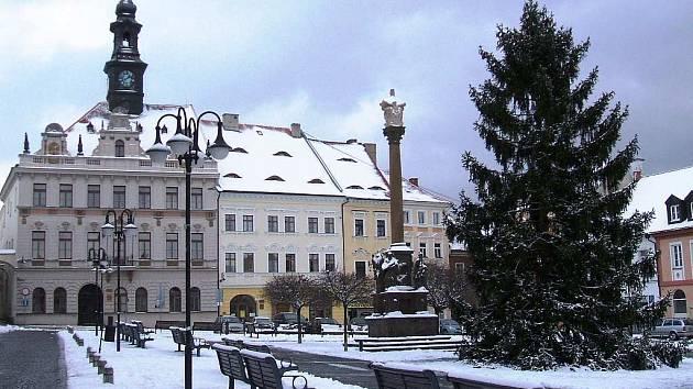 Českolipská radnice - Ilustrační foto.