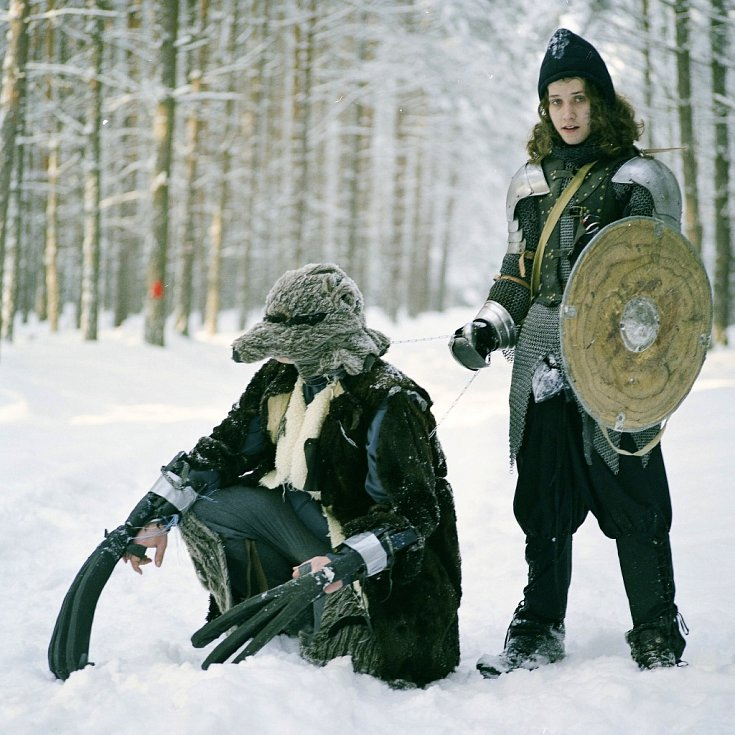 LETOS BEZ SNĚHU. Bojovníkům, kteří se zúčastní šestého ročníku bitvy, počasí v letošním roce celkem přeje.