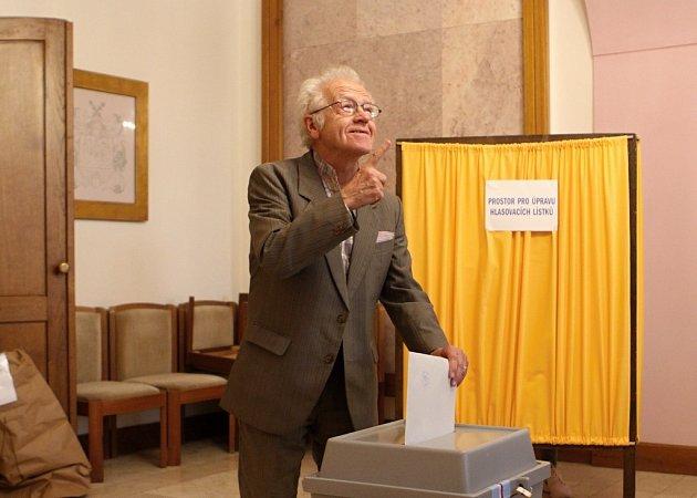 Českolipský volič Ferdinand Marák.