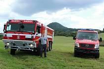 Chlouba kravařských hasičů.