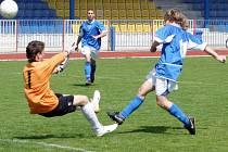 Čvančara mohl přidat druhý gól, ale neuspěl.