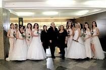 Jana Mrkvičková vede svatební studio. Foto: J. Mrkvičková