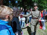 Nový Bor si připomněl 100 let od Rumburské vzpoury.