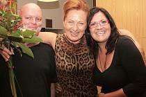 Při předávání ceny si pro Simonu Stašovu připravili hudební dárek David Singer a Dita Eiseltová, kteří jí zahráli skladbu Ave Maria od J. S. Bacha.