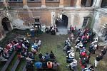 Den otevřených dveří na zámku ve Stvolínkách.