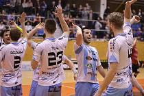 Povedlo se! Česká Lípa poprvé v historii zažije semifinále play-off 1. florbalové ligy mužů.