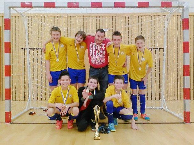 Vítězný tým českolipské Lokomotivy.