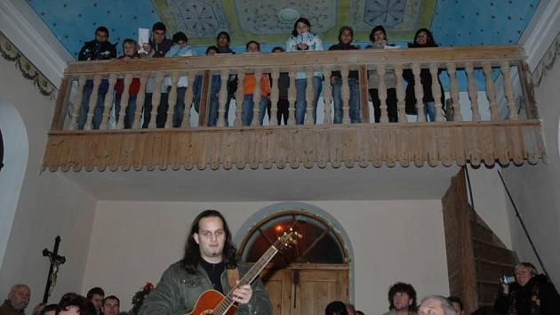 Koncert dětí v Heřmaničkách