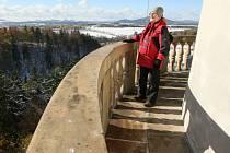 Středověká věž s vyhlídkou na Lemberku bude mimořádně přístupná až do pondělí, a to denně od 9 do 15 hodin.
