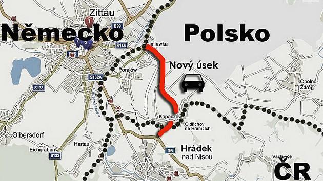 Dopravní tepna povede skrz Polsko.