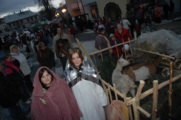Zahájení adventu v Kamenickém Šenově