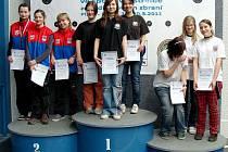 Fantastického úspěchu dosáhlo družstvo mladších dorostenek ve složení Michaela Širlová, Kateřina Franceová a Jennifer Franková.