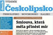Nové vydání Týdeníku Českolipsko.