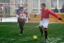 Fotbalový turnaj na umělé trávě v Jablonném.