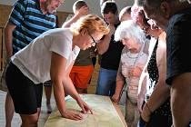 Setkání občanů v Horní Libchavě 29. července 2020.