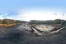 Začala obnova Hradčanského rybníku v Ralsku. Přijde na více než 30 milionů korun.