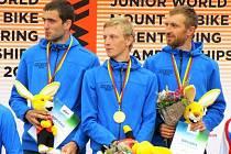 Trio Bogar, Ludvík a Stránský vybojovalo na MS v MTBO v Litvě zlaté medaile ve štafetách.