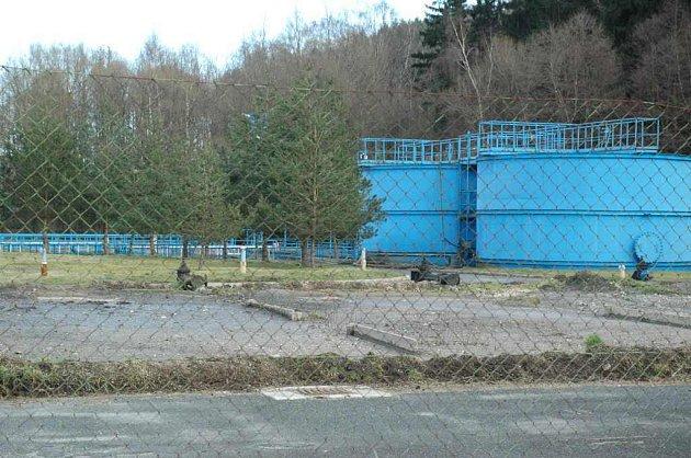 Čistička odpadních vod v Novém Boru