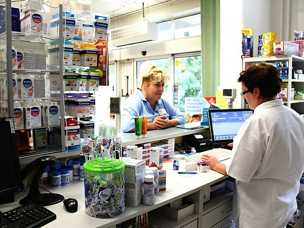 Veřejná lékárna včeskolipské nemocnici.