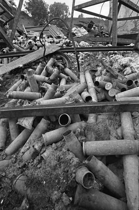 Pozůstatky munice SSSR