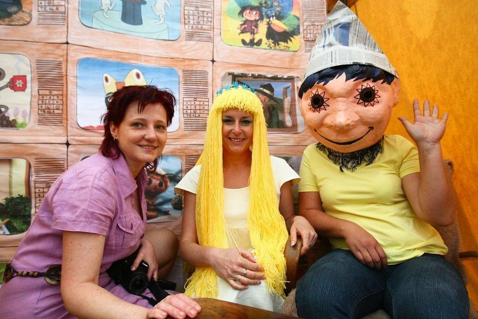 Dětský den v českolipské Farní charitě.
