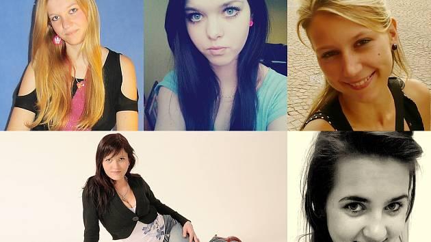 Monika, Denisa, Andrea, Kateřina, Anna.