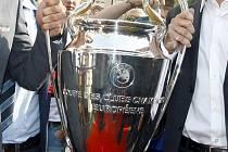 Trofej pro vítěze fotbalové Ligy mistrů.